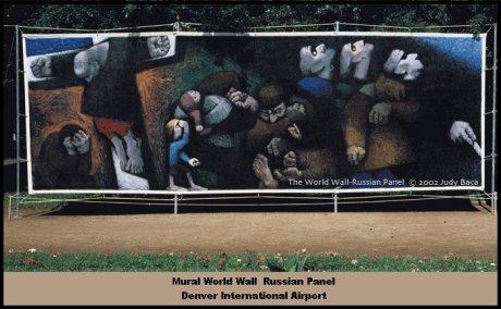 MuralWorldWallPanelRussianDenverAir