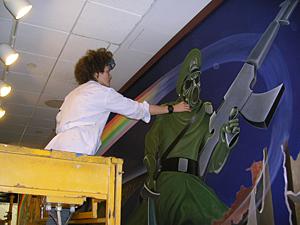 Tanguma murals the dia conspiracy files for Dia mural artist